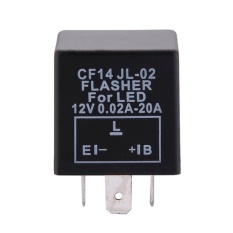 PHP 1.392. Gracefulvara Top Quality 3 Pin Adjustable LED Flasher Relay for Car ...