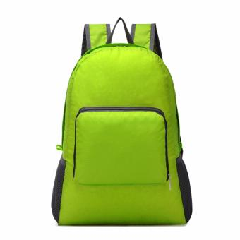GS Lightweight Nylon Travel Backpack Waterproof Foldable Bag - 4