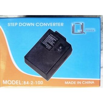HA UNITED 100W Portable Mini Step Down 220V to 110V Transformer