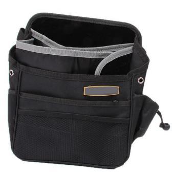 Hang-Qiao Car Seat Pocket Storage Bag Organizer Black