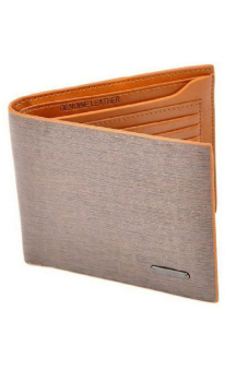 Hang-Qiao PU Leather Wallet (Light Brown)