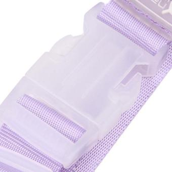 Hang-Qiao Travel Luggage Hanging Buckle Extra Bags Holder Purple - picture 2