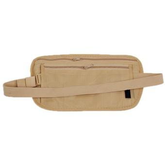Hang-Qiao Travel Waist Bag Portable Storage Bag Khaki