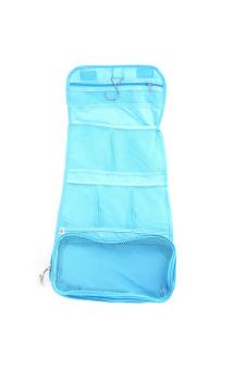 Hanyu Foldable Cosmetic Bag Blue