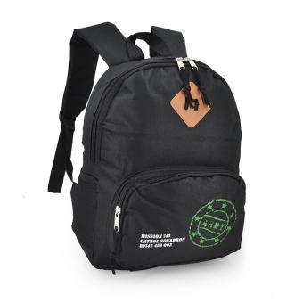 Happy Kids CRL-05 Kids School Bag Backpack (Black) - 2