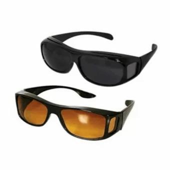 HD Vision Anti Glare Wrap Around Sunglasses - 2