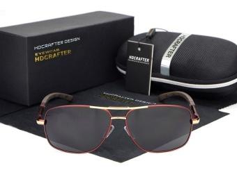 HDCRAFTER Luxury Retro Aviation Polarized Sunglasses Men Fashion Sun Glasses Men's Sunglasses Designer for Men Shades E012 - 2