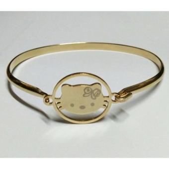 HELLO KITTY BANGLE STAINLESS STEEL BRACELET Price Philippines