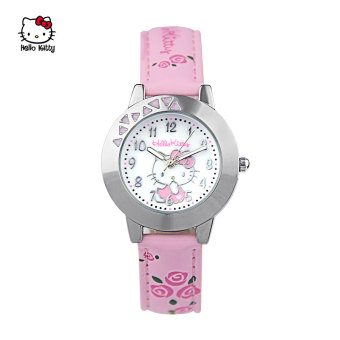 Hello Kitty cute girl's waterproof young student's Watch Children's Watch