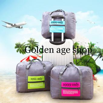 Hermes% 3 in 1 BIG Waterproof Nylon Folding Foldable Home TravelPackage Unisex Storage Bag Multifunction Dufful Clothes OrganizerStorage, Sports Gear Gym - 2