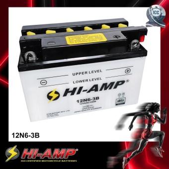 HI-AMP ICC Certified Japan Std MF Motorcycle Battery 12N6-3B