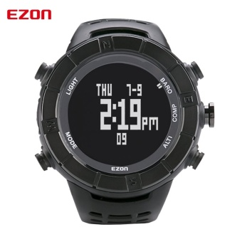High Quality EZON Multifunctional Outdoor Hiking Climbing SportsWatches with Altimeter Barometer Compass (Black) - intl - 2