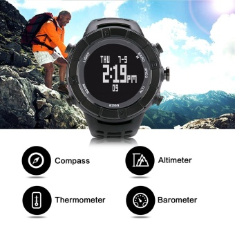 High Quality EZON Multifunctional Outdoor Hiking Climbing SportsWatches with Altimeter Barometer Compass (Black) - intl - 3