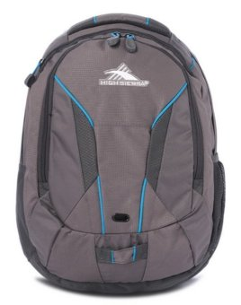 High Sierra Lynk Laptop Backpack (Charcoal/ Mercury/ Blueprint)