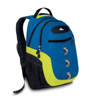 High Sierra Opie Backpack (Royal Cobalt/Chartreuse/Black)(…)