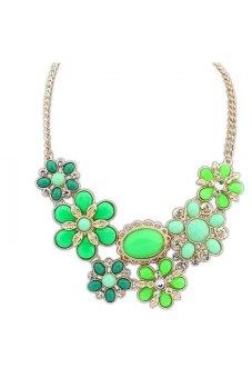 HKS HKS8007QZ Necklaces Green - Intl