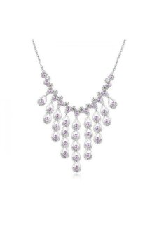 HKS Legends West Austria Crystal Necklace (Violet) - Intl