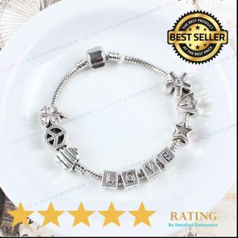 Homhul Authentic - 2017 DIY Bead Bracelet,High Quality Fashion Bracelet Charms (Pandora Copy) HML 07 - 3