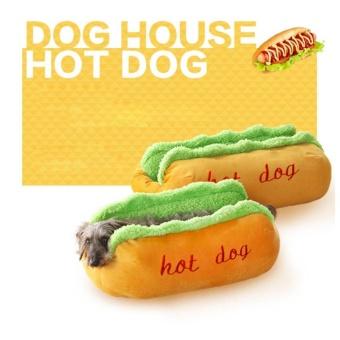 Hot Dog Bed Dog House Pet Sleeping Bag Puppy Nest Pet Cat Sofa (L) - intl - 4