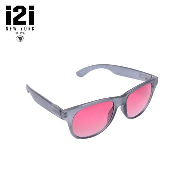 i2i New York Carolina Sunglasses (Gradient Burgundy) WAYFARER