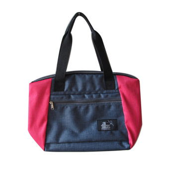 ILLUSTRAZIO Durashield Tote Bag (Blue Pink)