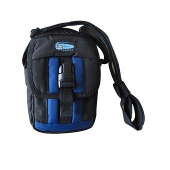 ILLUSTRAZIO High Density Utility Sling Bag (Black/Blue)