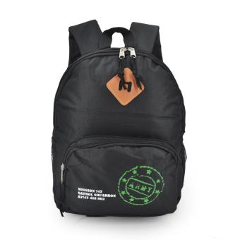 Harga Happy Kids CRL-05 Kids School Bag Backpack (Black)