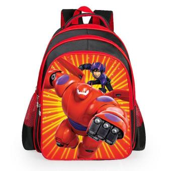 hot sale Baymax cartoon backpack multifunction school bags children schoolbag kids student bag boys cool bag - intl Price Philippines