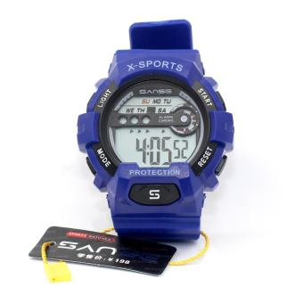 Sanse Water Resistant Uni-sex Watch TPU resin Strap-636 Blue Price Philippines