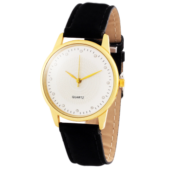 Geneva B156 Jean Leather Strap Watch (Black) Price Philippines