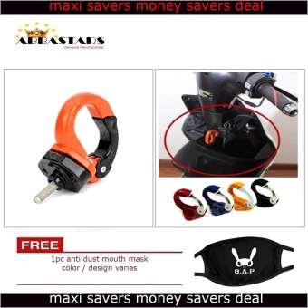 Harga Orange Motorcycle Helmet Hook Helmet Holder for Yamaha Vega Force i