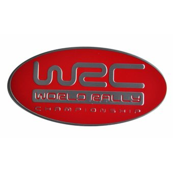 WRC World Rally Car Alloy Emblem Red Price Philippines