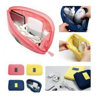 Digital Gadget Devices Cable Pouch(Pink) Price Philippines