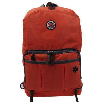 MV Lightweight Casual Foldable Backpack (Orange) Price Philippines