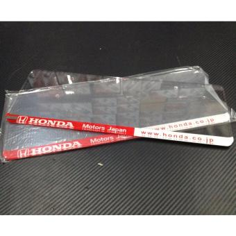 Honda Plate Cover (Clear) Price Philippines