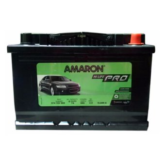 Harga AMARON Hi-Life Pro DIN 74 DIN 66 Maintenance Free Car Battery