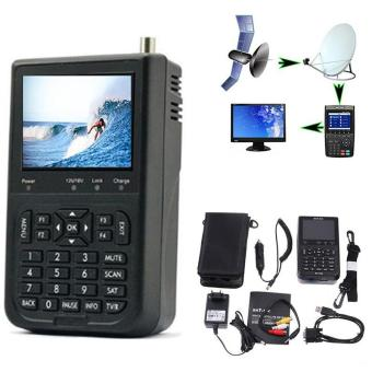 3.5'' WS-6906 DVB-S FTA Data Digital Satellite Signal Finder Meter LCD Finder - intl Price Philippines