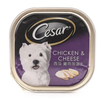Cesar Chicken & Cheese Wet Dog Food 100g ( 24 pcs / tray)
