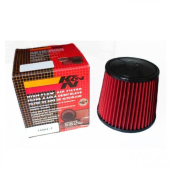 K&N 6 inches Air Filter Red