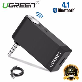 Harga UGREEN V4.1 Wireless Bluetooth Audio Music Receiver with Mic 3.5mm Hands-free