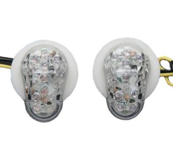 Flush Mount Amber LED Turn Signal for YAMAHA R1 R6S 2002-2008 03 04 05 06 07 08