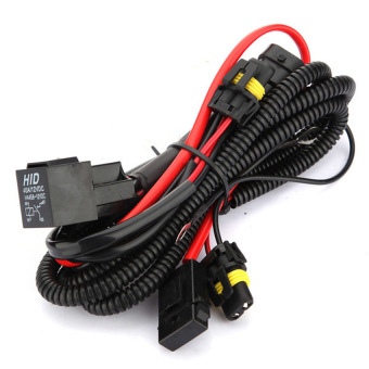 Harga Xenon HID Conversion Kit Relay Wiring Harness For H1 H7 H8 H9 H119005 9006 5202 - Intl