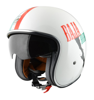 Harga Origine Italy Open Face 00019 Sprint Baja Bound Helmet (White)