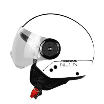 Harga ORIGINE 00092 Neon Street Glossy White Open Face Helmet (2017 Collection) - LARGE