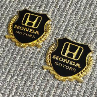 2pcs Golden Emblem Badge for Honda Cars Price Philippines