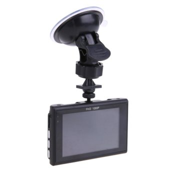 Harga Car DVR HD Camera Car-Detector Dash Cam Registrar Parking Video Recorder - intl