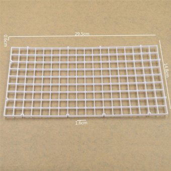Harga FC Plastic egg crate (300*150*6mm) White (16pcs/pack)