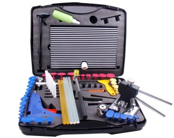 Harga Super PDR Auto Reapair black dent lifter Tool kits Dent Paintless Removel PDR Tools(68 pcs with tool box) (Intl)