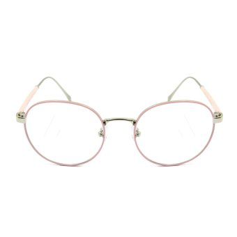Maldives 1532-15-Y Hamilton Fashion Round Frame Eyeglasses (Clear Lens/Baby Pink Silver) Price Philippines