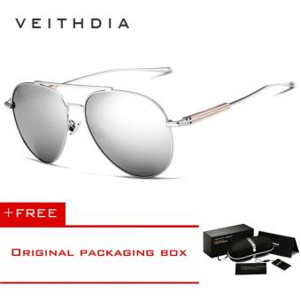 VEITHDIA Fashion Brand Unisex Designer Aluminum Men Sun Glasses polarized Mirror Male Eyewear Sunglasses For Women Men 6696 [ Buy 1 Get 1 Freebie ] - intl Price Philippines